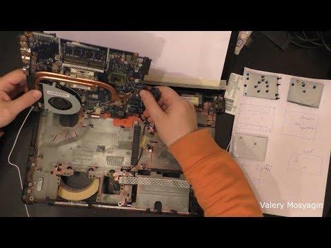 Разборка и чистка ноутбука Packard Bell, Easy Note TE11HC