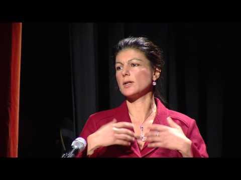 Sahra Wagenknecht bei der Rosa-Luxemburg-Konferenz 2016