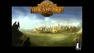 The Age of Decadence Review in Progress