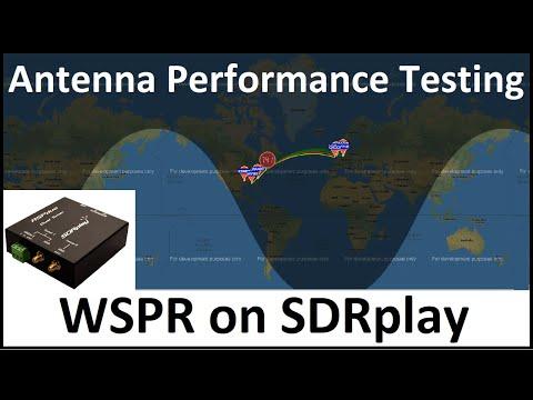 Receiving WSPR on SDRplay RSPduo   Shortwave Antenna Performance Test