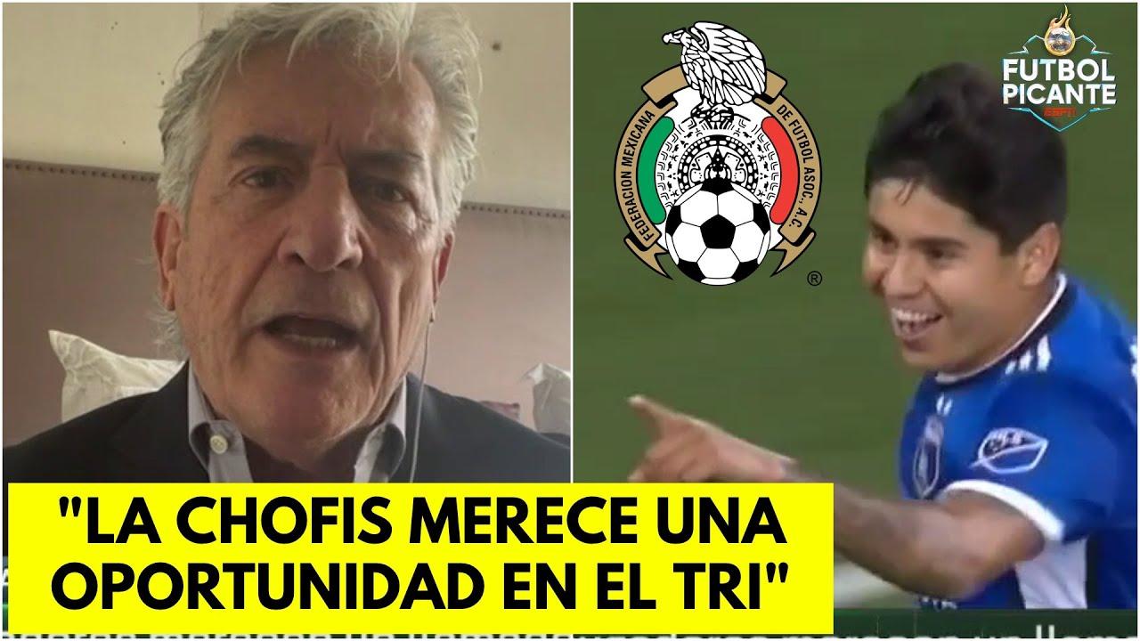 Rafa Puente en la SILLA CALIENTE. SUGIERE a la CHOFIS para la selección mexicana