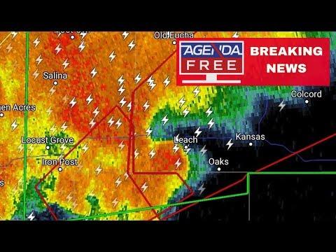 Tornado Emergency in Leach, Oklahoma - LIVE BREAKING NEWS COVERAGE