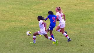 CU20W 2018: Haiti vs Canada Highlights