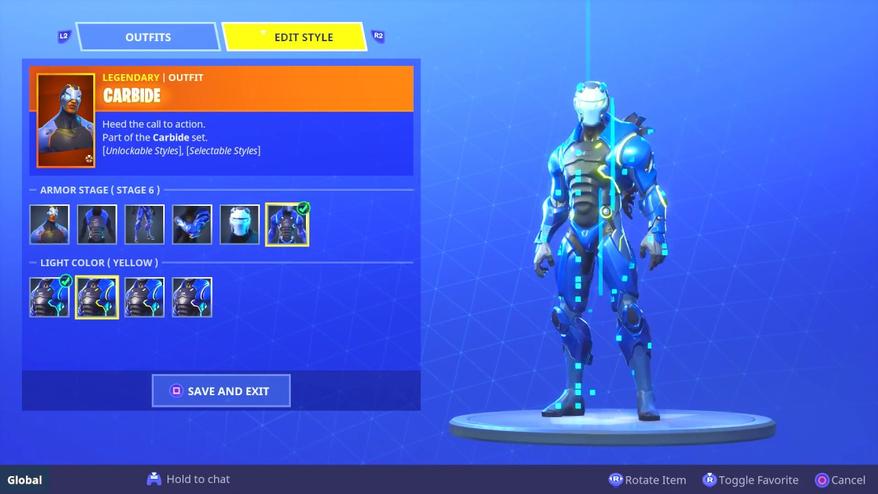*NEW* OMEGA and CARBIDE COLOR CHANGE!! Fortnite Battle ...
