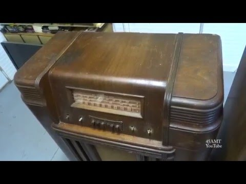 Repair of a 1947 Firestone Airchief 4-A-30 Console Tube Radi