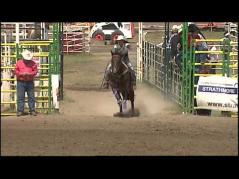 Road To The CFR 2013   Strathmore   Ladies' Barrel Racing