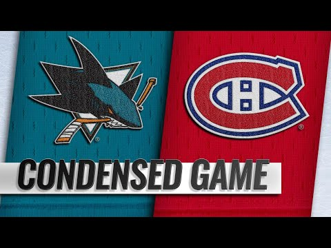 12/02/18 Condensed Game: Sharks @ Canadiens