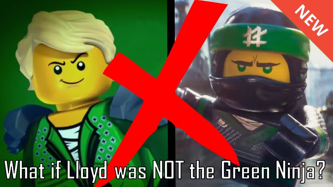 LEGO Ninjago: What if Lloyd was NOT the Green Ninja ...
