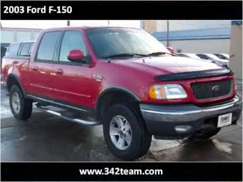 2003 ford f 150 used cars rapid city sd youtube. Black Bedroom Furniture Sets. Home Design Ideas