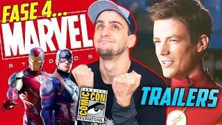 PresentaciÓn Marvel Fase 4 Y Trailers Arrowverse ReacciÓn - Panel Sdcc Comic-con 2019