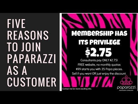 FIve reasons to join Paparazzi as a Wholesale Customer