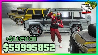 "How To Make MILLIONS Duplicate ""Dubsta 2"" Cars In GTA 5 Online 