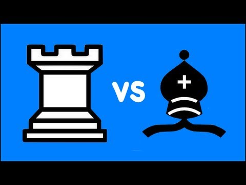 Chess Endgame: Rook vs Bishop