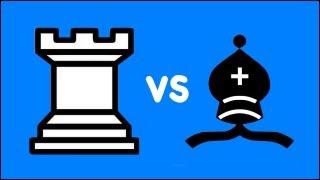 Chess Endgame: Rook vs Bishop