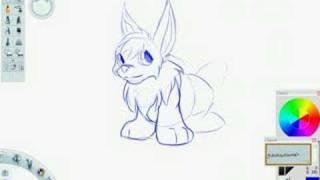 Slopdog Art - Draw a Neopets Cybunny