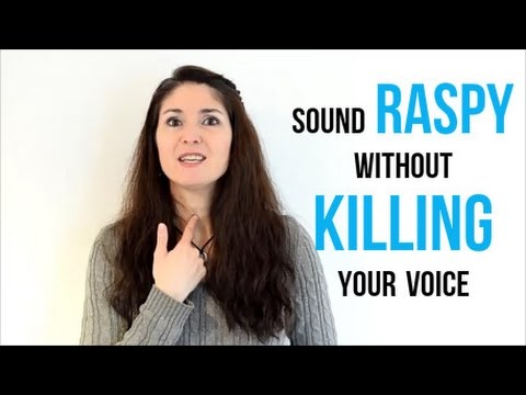 Freya's Singing Tips: How to sing RASPY without KILLING your
