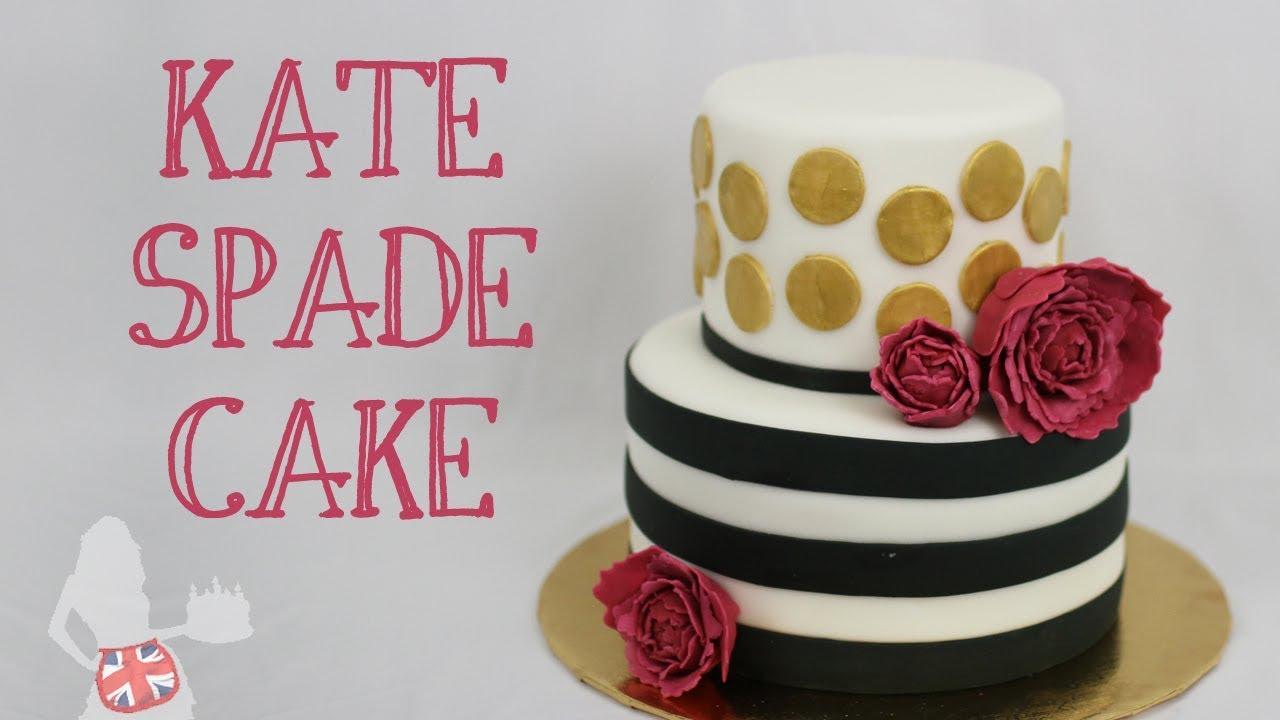 How To Make A KATE SPADE CAKE