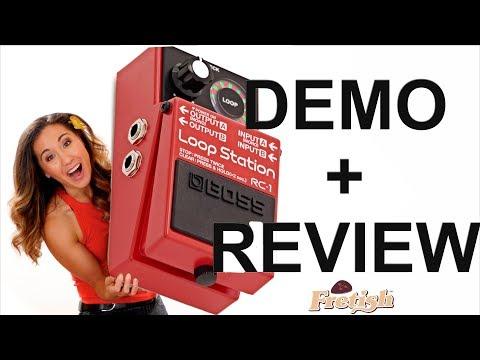 Ukulele + Loop Pedal = 🔥🔥Boss RC1 Loop Station Demo+Review