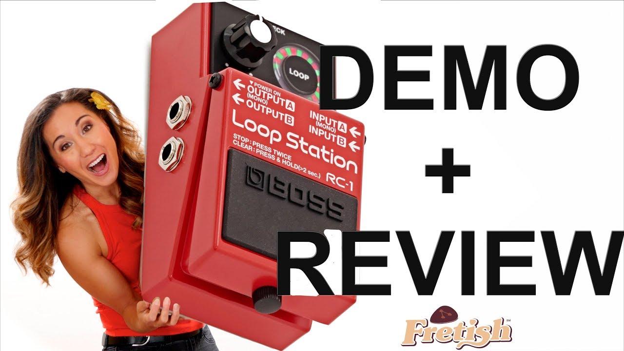 ukulele loop pedal boss rc1 loop station demo review youtube. Black Bedroom Furniture Sets. Home Design Ideas