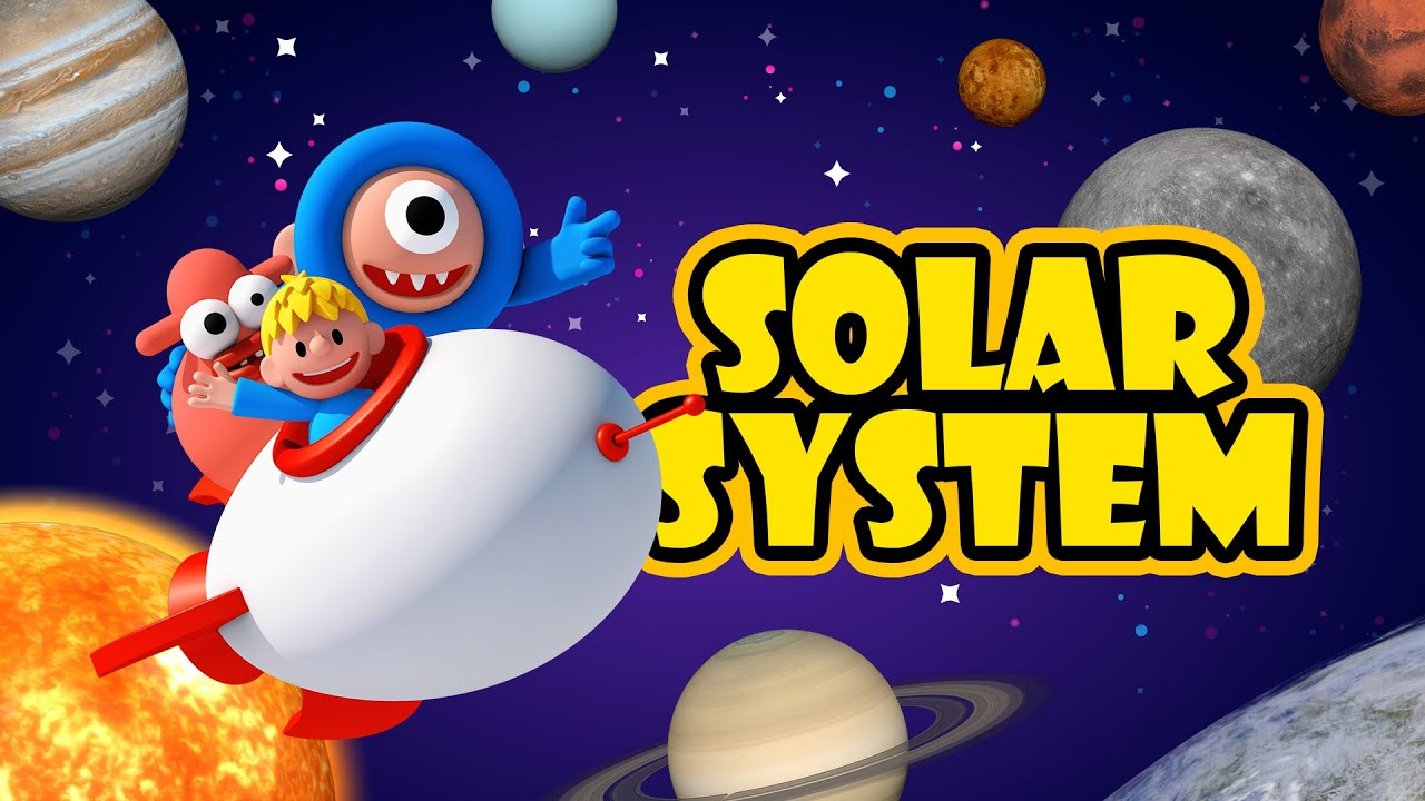 Solar System Animation l Planets of our solar system for free school l Fun Learning