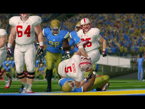 NCAA Football 14 Season 2016-2017 Stanford Cardinal vs UCLA Bruins
