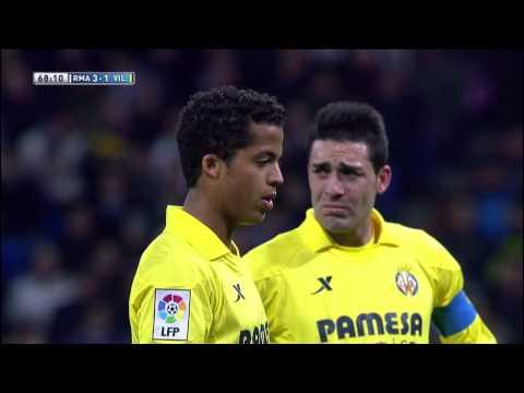 Gol de Giovani (3-2) en el Real Madrid - Villarreal CF  - HD