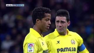 Gol de Giovani (3-2) en el Real Madrid - Villarreal CF  - HD