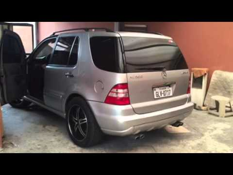 mercedes benz ml500 exhaust youtube. Black Bedroom Furniture Sets. Home Design Ideas