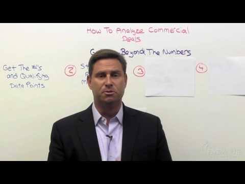 Commercial Deal Structuring 02: How To Look Beyond The Numbers