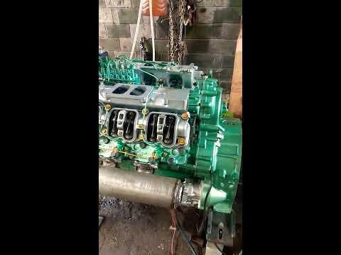Running Test Nissan RF-8 Engine