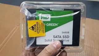 Mở hộp và đánh giá SSD WD Green 240GB giá rẻ tốt nhất để bạn nâng cấp máy tính