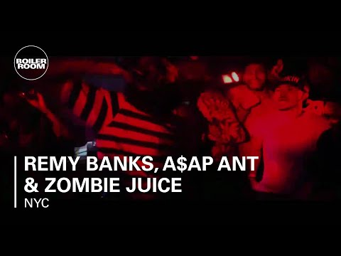Remy Banks, A$AP Ant & Zombie Juice - '3FLIPS6' - live in the Boiler Room New York