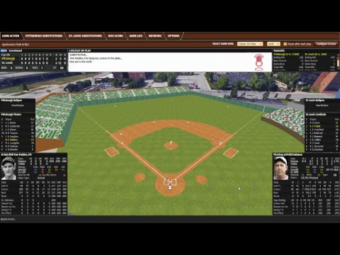 1934 | Pittsburgh Pirates v. St. Louis Cardinals | OOTP19 | Game 3