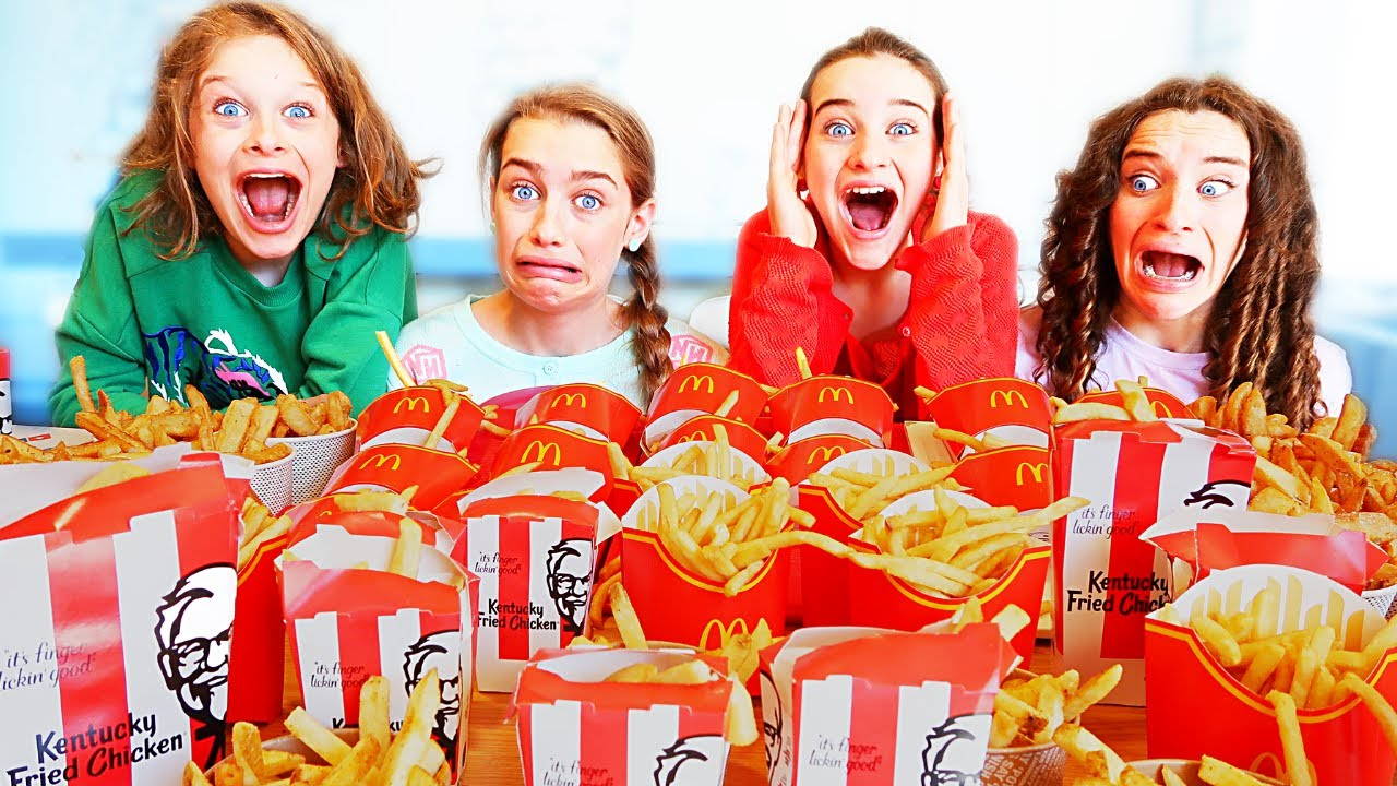Download WHO CAN EAT THE MOST FRIES w/The Norris Nuts
