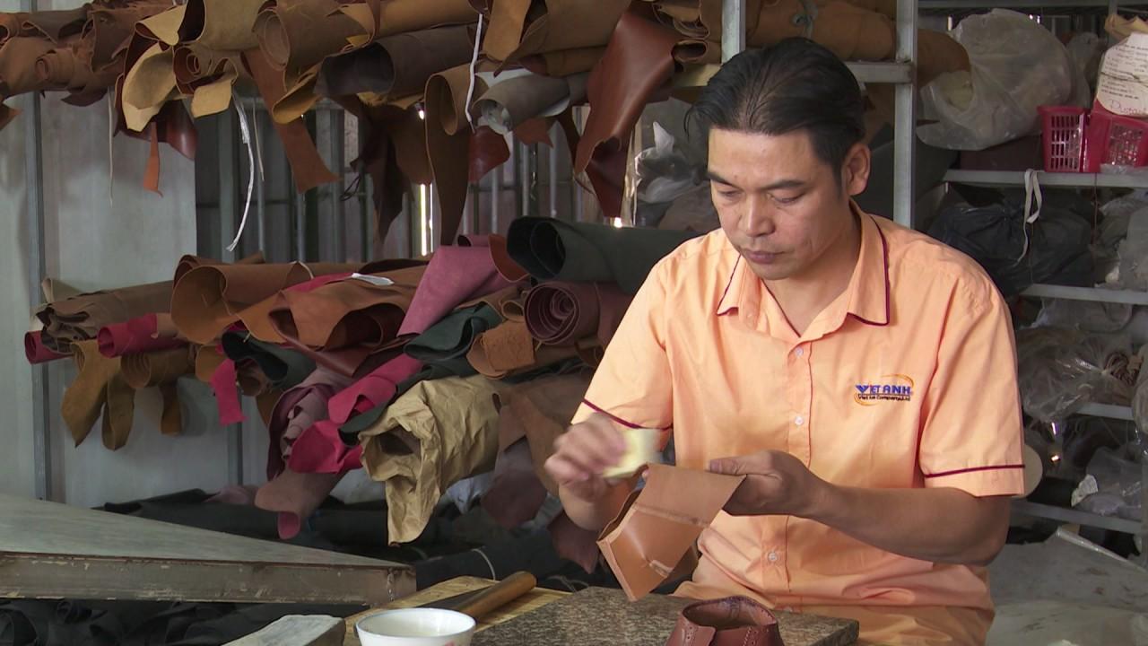 Quá trình sản xuất giầy da thủ công