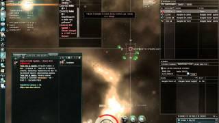 Реальный боевой соло вылет. Тактика поведения. EVE Online