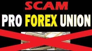 CUIDADO! Pro Forex Union ( SCAM )