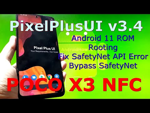 PixelPlusUI v3.4 for Poco X3 NFC (Surya) Android 11