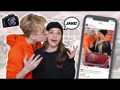 Recreating Famous YOUTUBE COUPLES Photo Challenge W/ MY CRUSH **WE KISSED**💋| Piper Rockelle