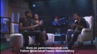 Busy Signal - Post Prison Onstage Interview (November 2012 @DancehallTweets)
