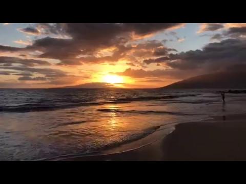 Maui Sunset From Kihei, Hawaii