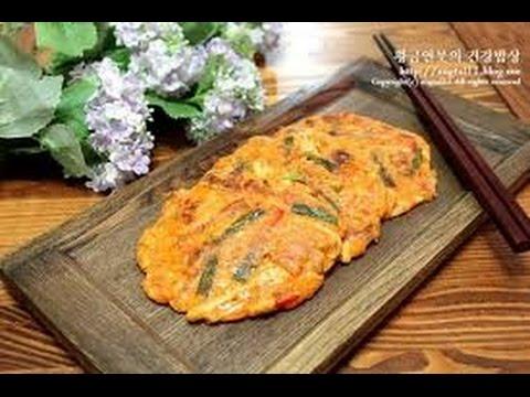 Hướng dẫn nấu ăn số 8: Bánh pancake kim chi Hàn Quốc (Kimchi cake of Korea)