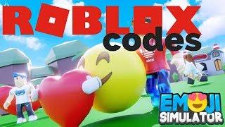 Roblox Emoji Simulator Codes 2019