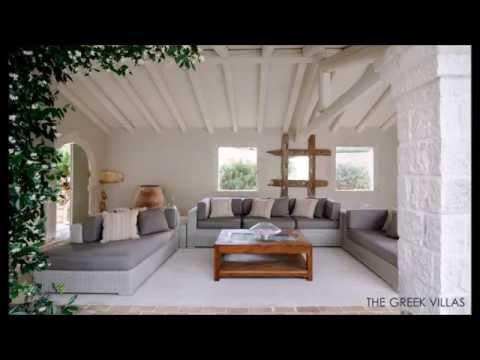 Beautiful Villas on Greek Islands