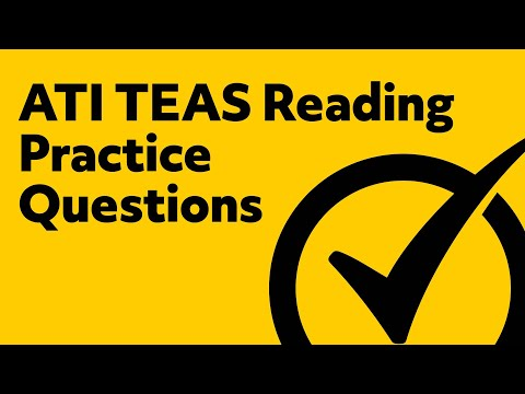 Free TEAS Reading Practice Test - YouTube