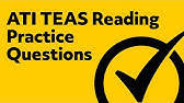TEAS 6 Exam - Reading (Get a high score in Reading portion of the