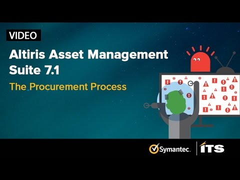 Altiris Asset Management Suite 7.1. Episode 1: The Procurement Process.