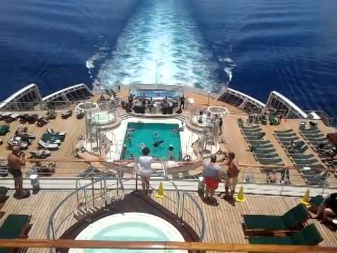 Cunards Queen Mary Cruise Ship Sail Away Party YouTube - Princess mary cruise ship