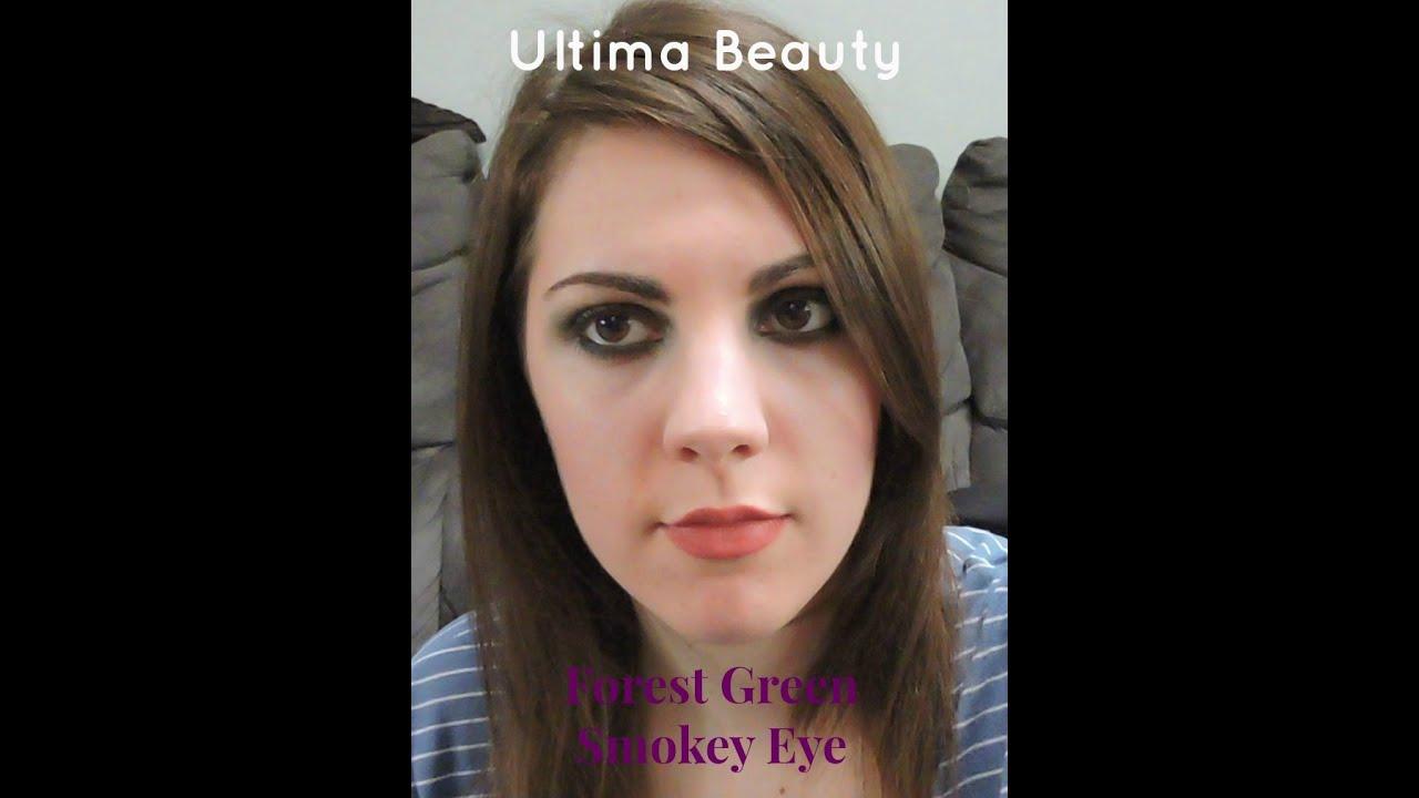 Forest Green Smokey Eyeshadow