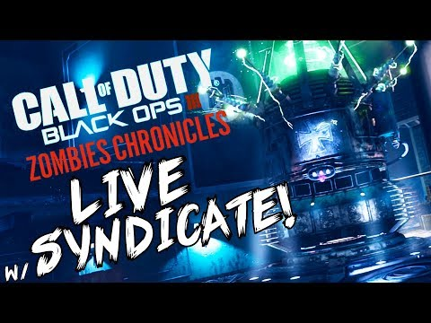 "Black Ops 3: ""Kino Der Toten 1st Room MADNESS"" - ZOMBIE CHRONICLES *LIVESTREAM* w/ Syndicate!"